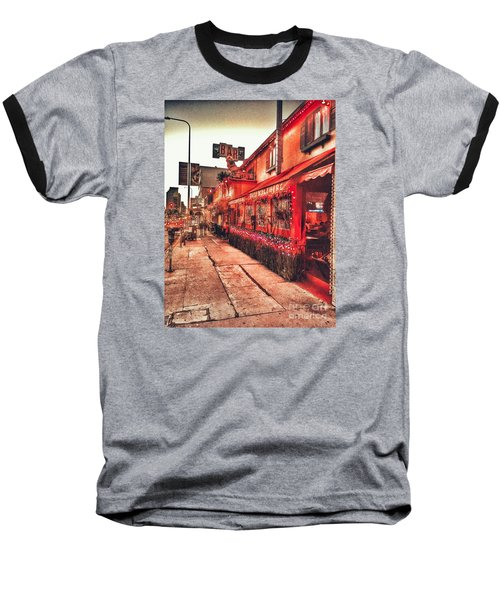 West Los Angeles Cocktail Row Baseball T-Shirt