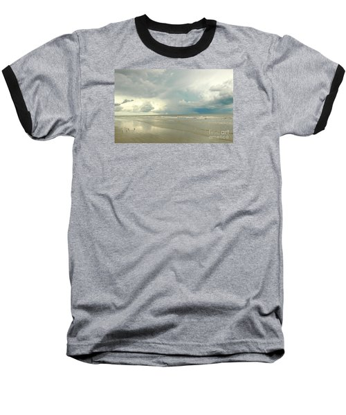 Baseball T-Shirt featuring the photograph Coco Beach by Raymond Earley