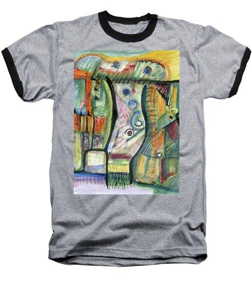 Coco Palm Baseball T-Shirt