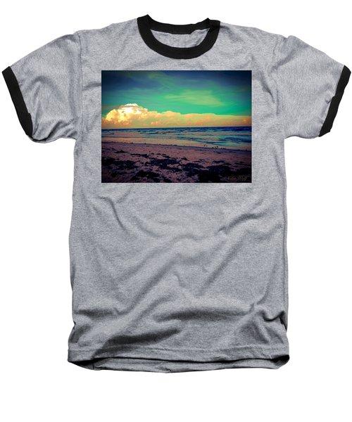 Cocoa Beach At Dusk Baseball T-Shirt