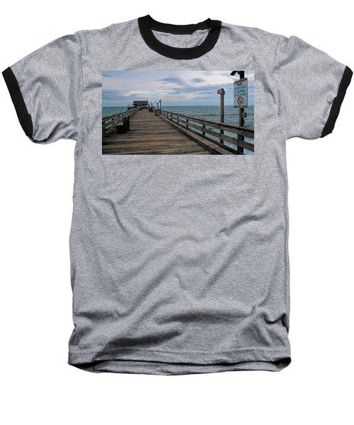 Cocoa Beach  Baseball T-Shirt by Pat Cook