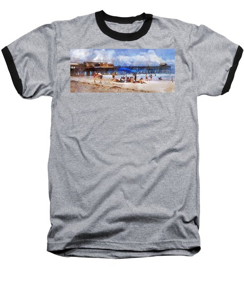Cocoa Beach Pier Baseball T-Shirt