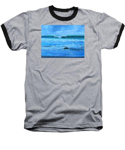 Cocoa Beach Surf Baseball T-Shirt