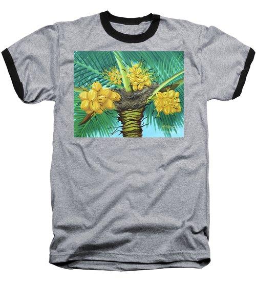 Coconut Palms Baseball T-Shirt