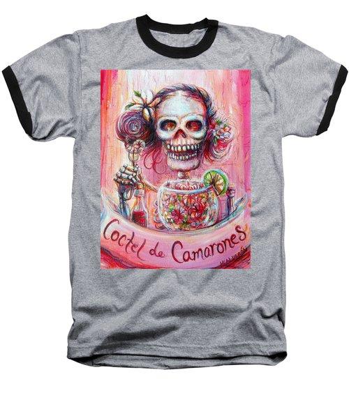 Coctel De Camarones Baseball T-Shirt