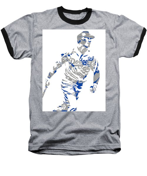 Cody Bellinger Los Angeles Dodgers Pixel Art 1 Baseball T-Shirt