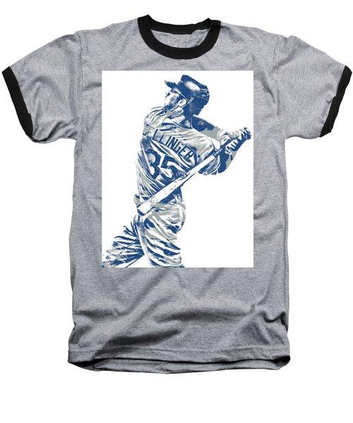 Cody Bellinger Los Angeles Dodgers Pixel Art 10 Baseball T-Shirt