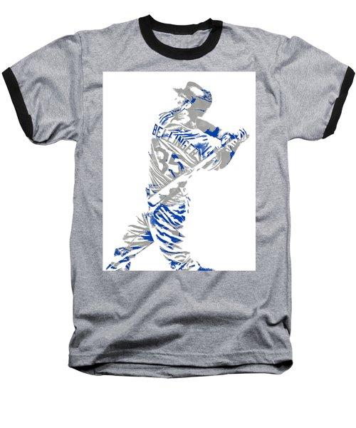 Cody Bellinger Los Angeles Dodgers Pixel Art 2 Baseball T-Shirt