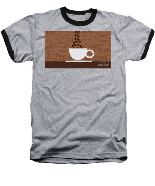 Coffee #3 Baseball T-Shirt