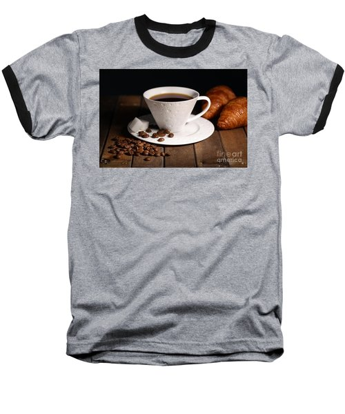 Coffee #4 Baseball T-Shirt