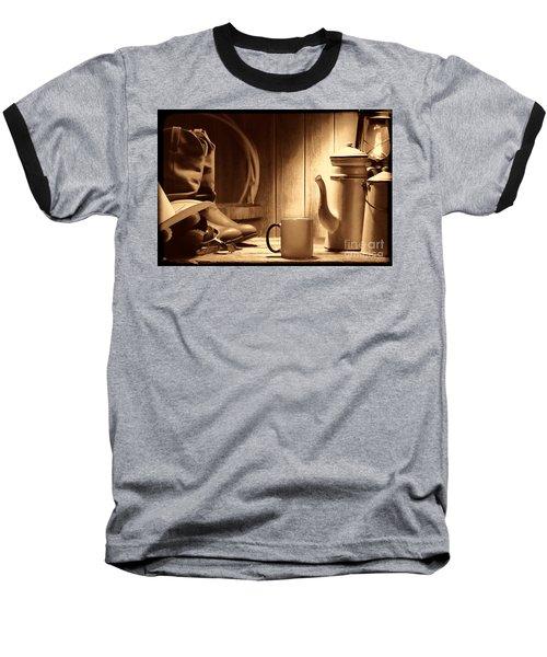 Coffee At The Ranch Baseball T-Shirt