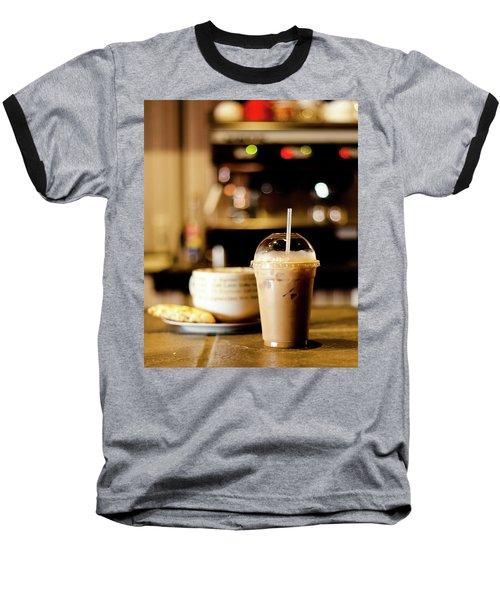 Coffee Bar Atmosphere Baseball T-Shirt