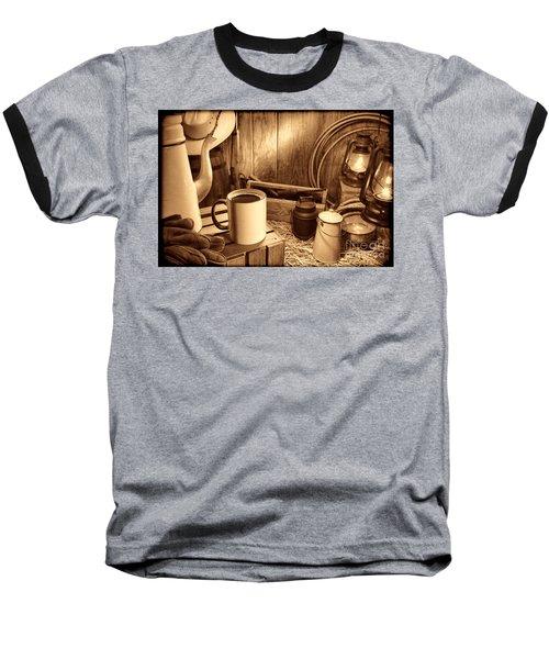 Coffee Break At The Chuck Wagon Baseball T-Shirt