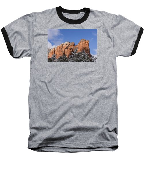 Baseball T-Shirt featuring the photograph Coffee Pot Leads The Way by Laura Pratt