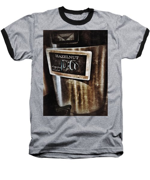 Coffee Time Baseball T-Shirt by Mark David Gerson