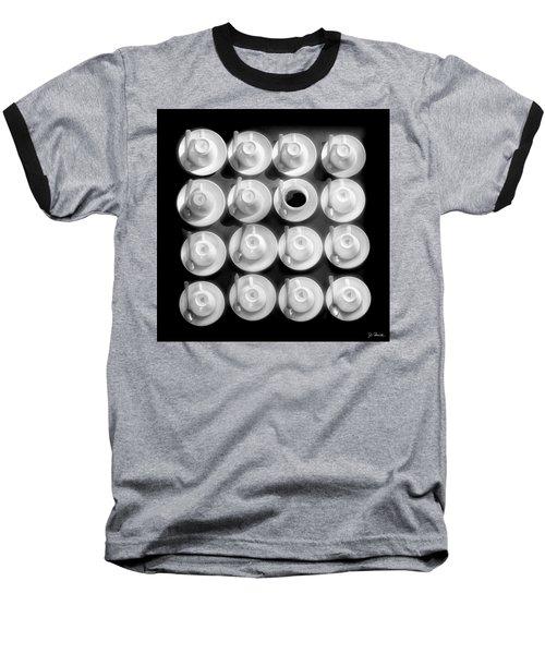 Coffee Time No. 3 Baseball T-Shirt by Joe Bonita