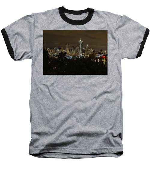 Coffee Town Baseball T-Shirt