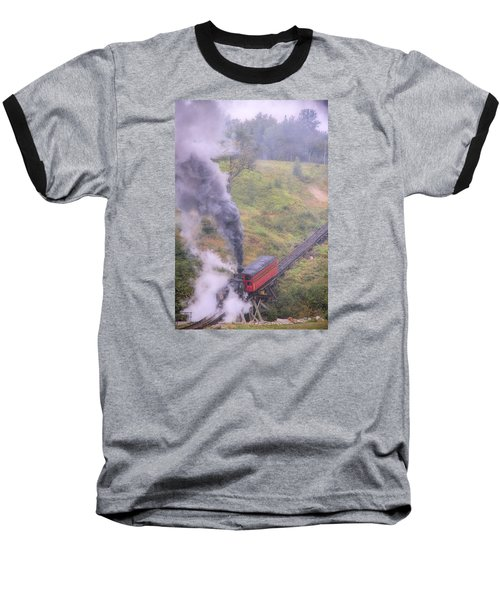 Cog Railway Car Baseball T-Shirt