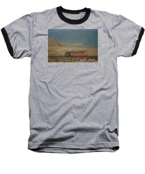 Cog Railway Mount Washington Baseball T-Shirt