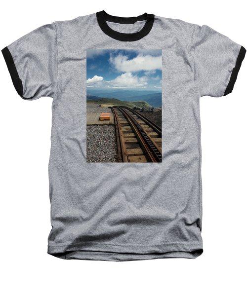 Cog Railway Stop Baseball T-Shirt