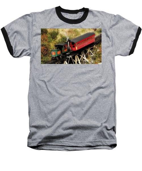 Cog Railway Vintage Baseball T-Shirt