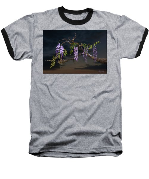 Cogan's Wisteria Tree Baseball T-Shirt