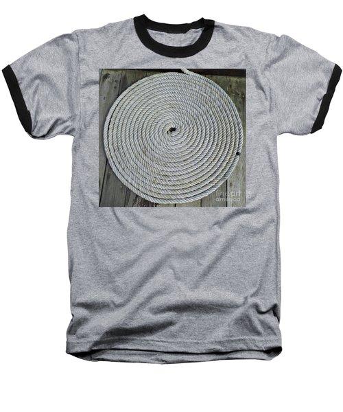 Coiled By D Hackett Baseball T-Shirt