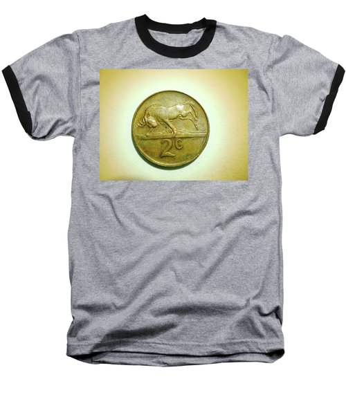 Baseball T-Shirt featuring the photograph Coin Series -  by Beto Machado