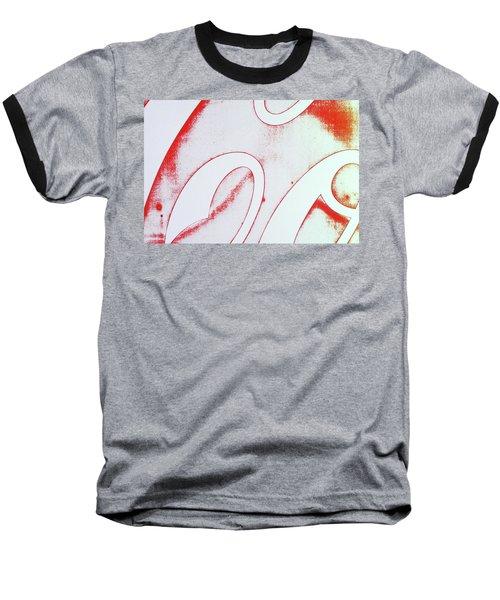 Coke 2 Baseball T-Shirt by Laurie Stewart