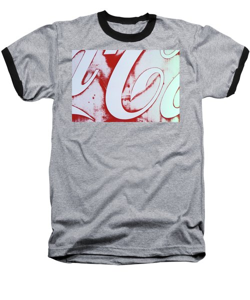 Coke 3 Baseball T-Shirt by Laurie Stewart