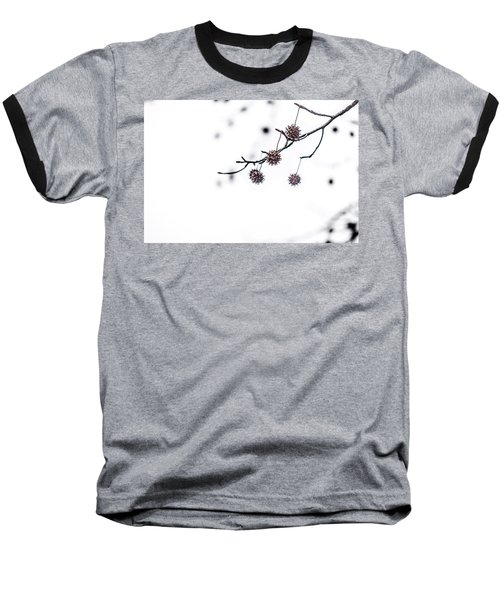 Cold And Pointy Baseball T-Shirt by Wade Brooks