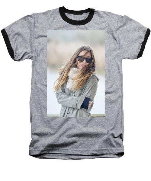 Cold And Windy Baseball T-Shirt