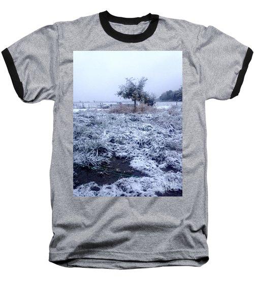 Cold Blue Baseball T-Shirt