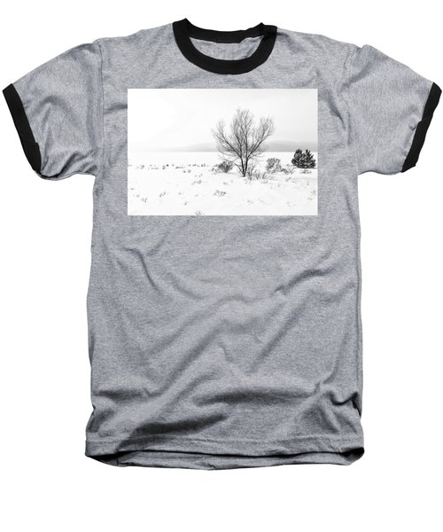 Baseball T-Shirt featuring the photograph Cold Loneliness by Hayato Matsumoto