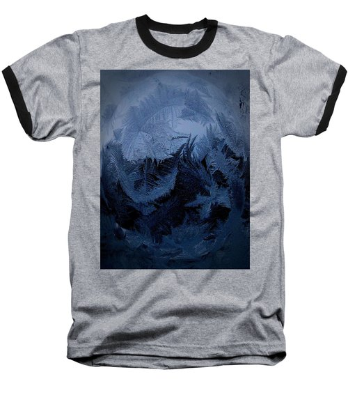 Cold Moon Rising Baseball T-Shirt