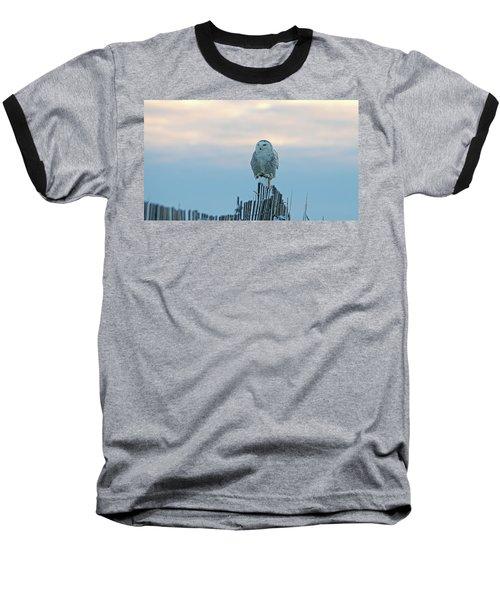 Cold Morning Light Baseball T-Shirt by Stephen Flint