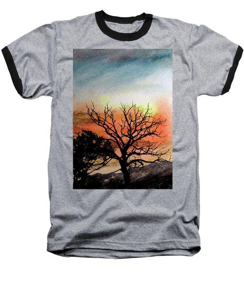 Cold Nightfall  Baseball T-Shirt by R Kyllo