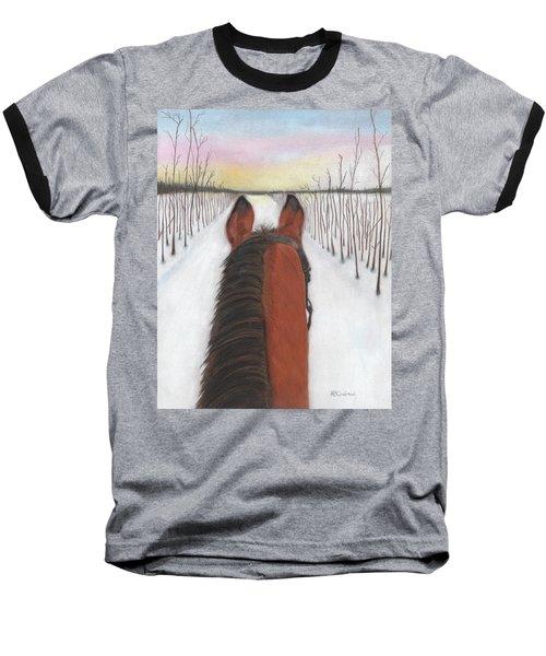 Cold Ride Baseball T-Shirt