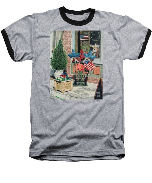 Cold Spring Window Left Baseball T-Shirt