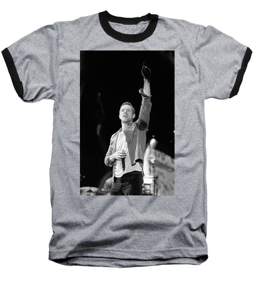 Coldplay 16 Baseball T-Shirt by Rafa Rivas
