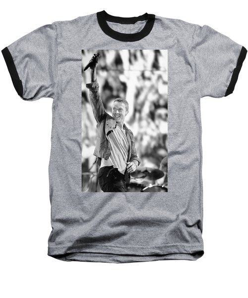 Coldplay13 Baseball T-Shirt by Rafa Rivas