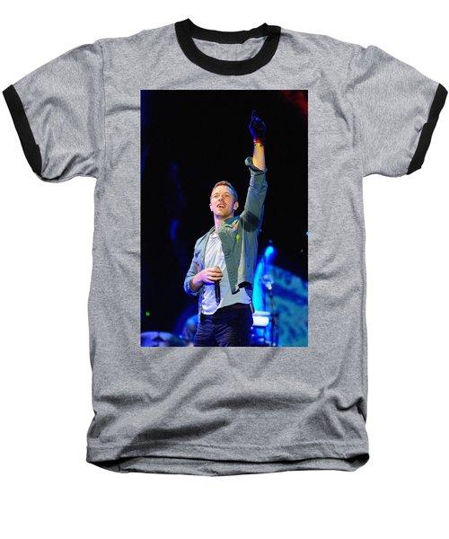Coldplay8 Baseball T-Shirt by Rafa Rivas