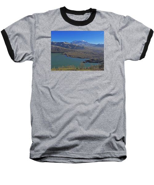 Baseball T-Shirt featuring the photograph Coldwater Lake by Jack Moskovita