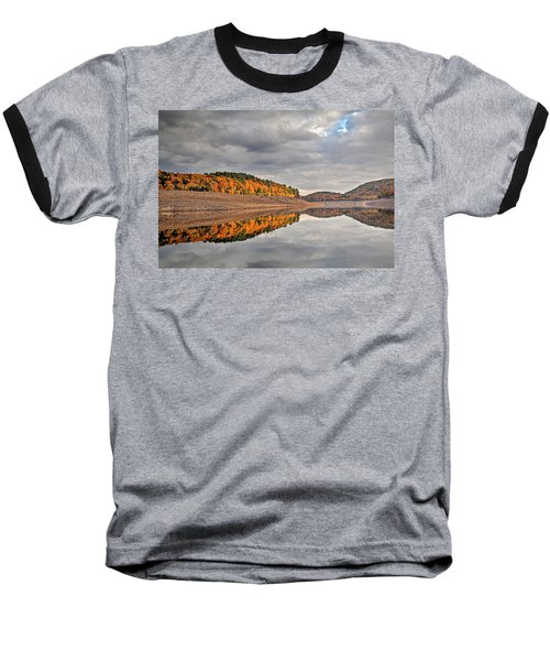 Colebrook Reservoir - In Drought Baseball T-Shirt by Tom Cameron