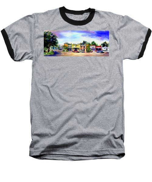 Colfax Main And Church Street Baseball T-Shirt