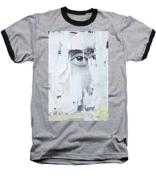 Street Collage 2 Baseball T-Shirt by Colleen Williams