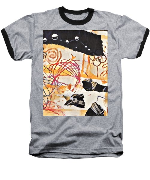 Collage Details Baseball T-Shirt