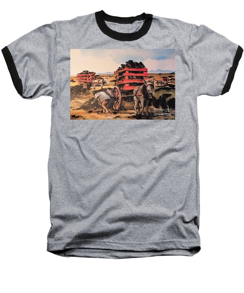 Collecting Turf  Baseball T-Shirt