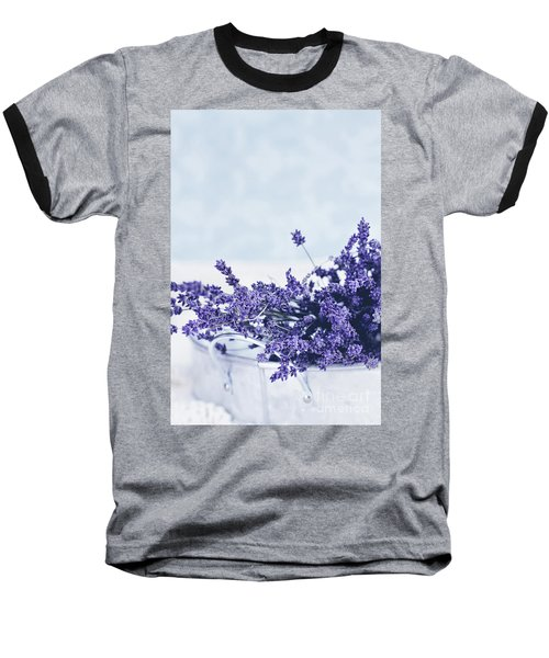 Collection Of Lavender  Baseball T-Shirt by Stephanie Frey