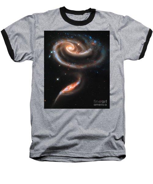 Colliding Galaxies Baseball T-Shirt
